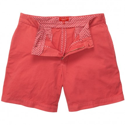 Club Short - Washed Red